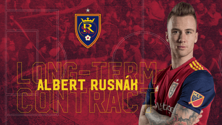 Real Salt Lake Re-Signs MF Albert Rusnák to Multi-Year Contract -