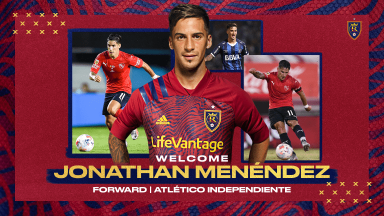 Real Salt Lake Acquires Jonathan Menéndez -