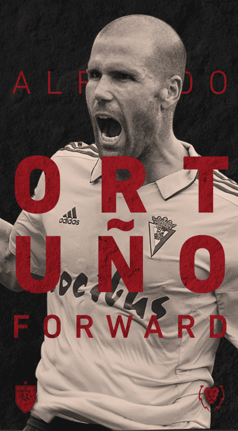 Real Salt Lake Signs Spanish Forward Alfredo Ortuño -