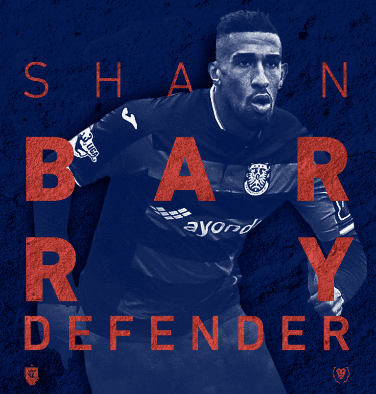 RSL signs defender Shawn Barry -