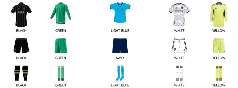 LAFC vs RSL kits