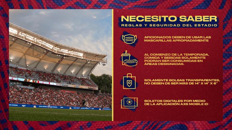 Reglas Y Seguridad Del Estadio -