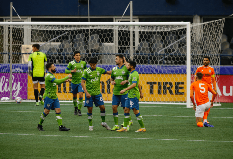 Seattle Sounders forward Will Bruin ready for impact season in new two-forward formation -