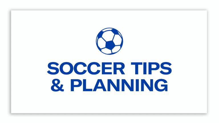 Sutter Health: Soccer Tips & Planning -
