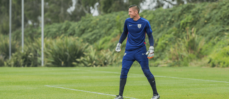 FEATURE: David Bingham aiming to make most of rare goalkeeper opportunity -