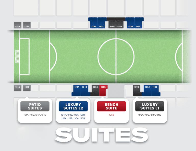 Annual Suites Map -