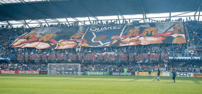Earthquakes Supporters Clubs -