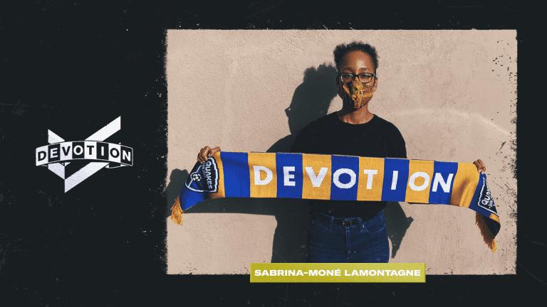 Sabrina-Moné Lamontagne - Devotion Scarf