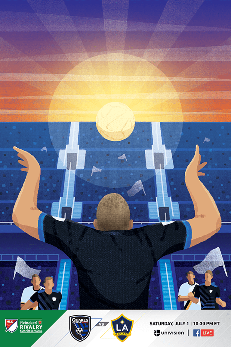 FEATURE: Tommy Thompson inspires California Clasico poster design ahead of July 1 match at Stanford -