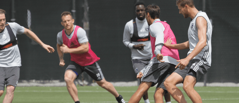 Training Report: Prep begins for East Coast showdown with Philadelphia Union -