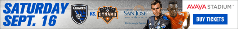 FEATURE: California Clasico win breathes new life into postseason goal for San Jose -