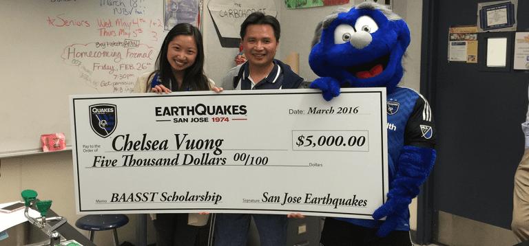 Donate to the Quakes Foundation -