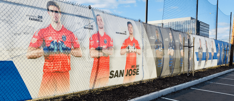 FEATURE: New Quakes Training Field Wrap Embodies Club Essence -