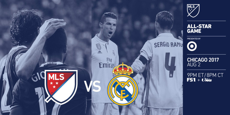 MLS All-Stars to face Real Madrid in 2017 MLS All-Star Game presented by Target -