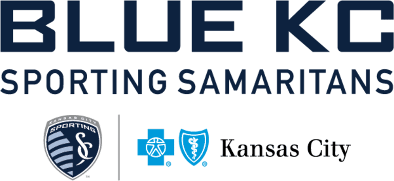 Blue KC Sporting Samaritan Logo