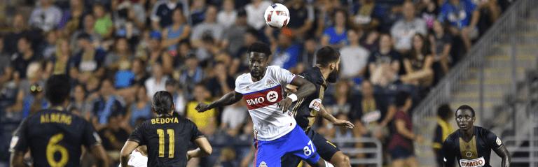 Toronto FC building on positives ahead of trip to Philadelphia -