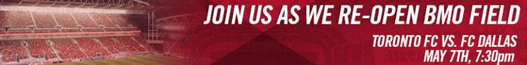Toronto FC and Ontario Soccer Association Announce Partnership  - Buy Home Opener Tickets Now