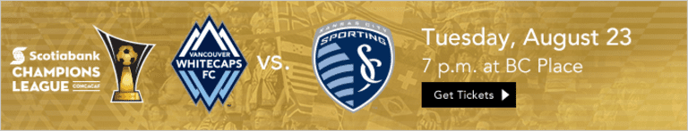 Preview: Whitecaps FC off to Kansas City for important Western Conference clash -