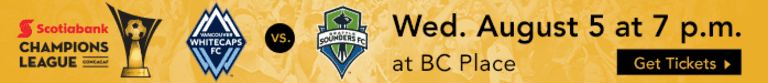 Eyes on the prize: 'Caps, Sounders battle again with sights set on Champions League glory -