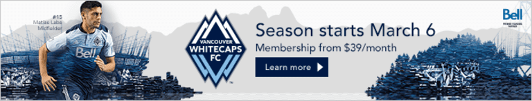 LIVE STREAM: Vancouver Whitecaps FC vs. Seattle Sounders FC at 4 p.m. PT -