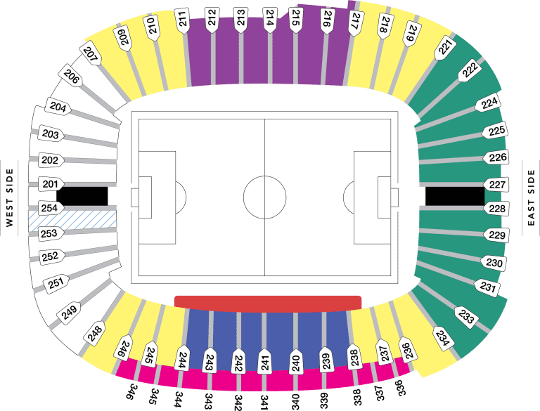 BC Place - BC Place Stadium Map