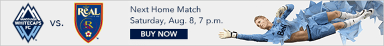 Preview: Western Conference-leading 'Caps return to MLS action Saturday at BC Place -
