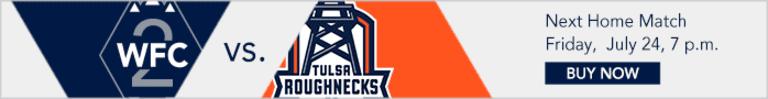 Whitecaps FC 2, Tulsa Roughnecks FC battle it out at Thunderbeach -