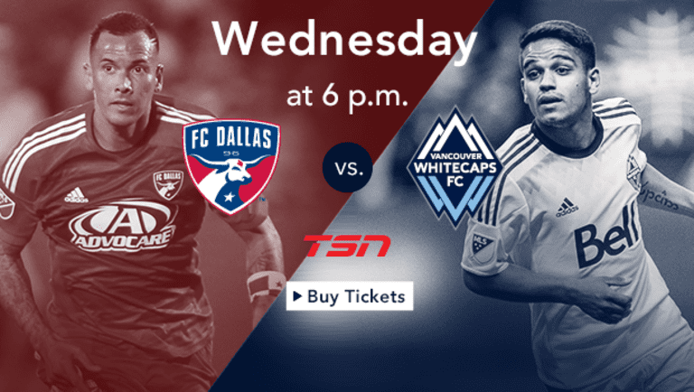 Preview: Playoff-bound 'Caps look to 'build momentum' Wednesday vs. FC Dallas -