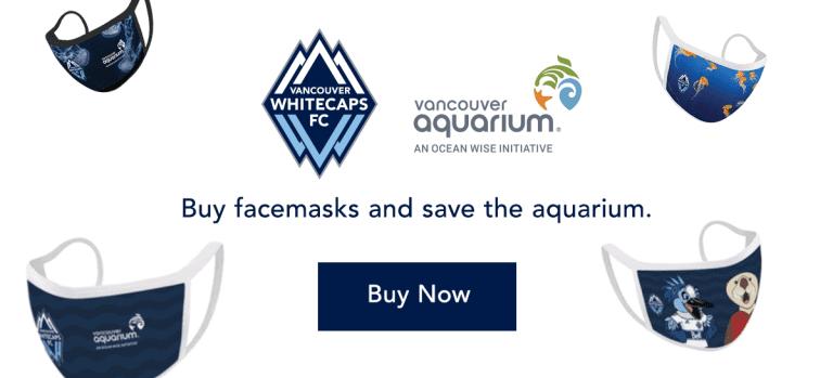 Whitecaps FC rally to help save the Vancouver Aquarium -