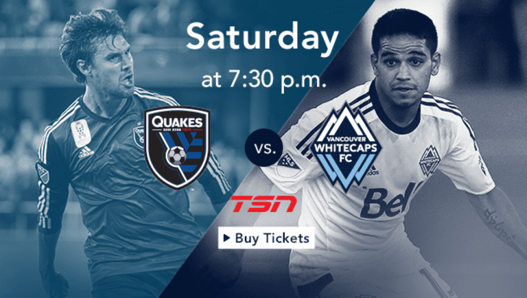 Preview: Whitecaps FC visit San Jose on Saturday with playoff berth up for grabs -