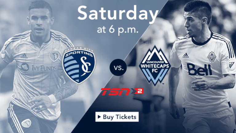Preview: 'Caps look for fourth straight win Saturday against Sporting Kansas City -