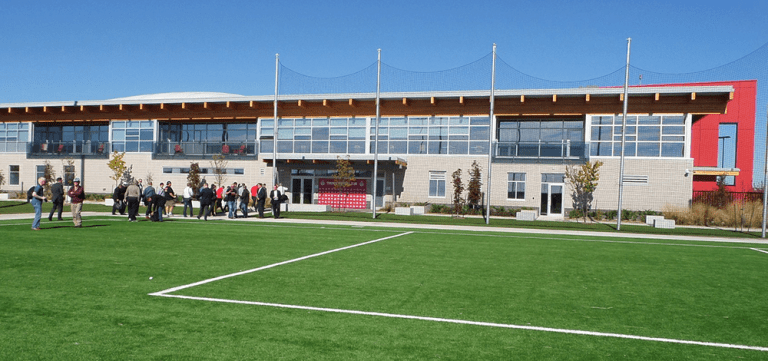 Facts, figures and images from every MLS training facility -