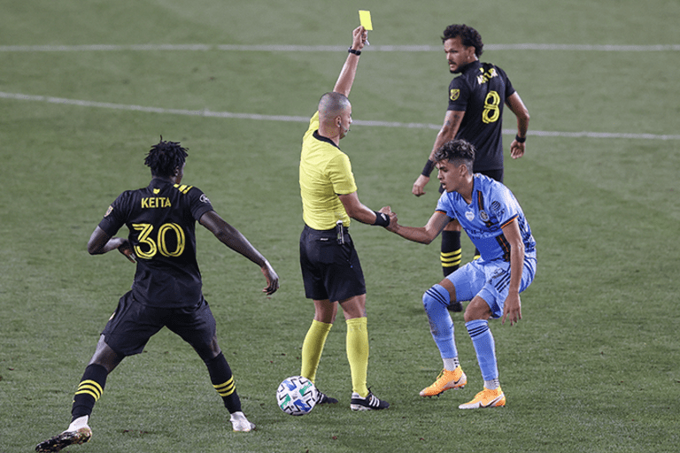 Columbus Crew SC wanted referee to crack down on NYCFC fouls during 1-0 loss - https://league-mp7static.mlsdigital.net/images/saghafi_yellow.png