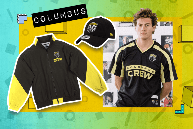 """Examples of Columbus Crew """"Since '96"""" items"""