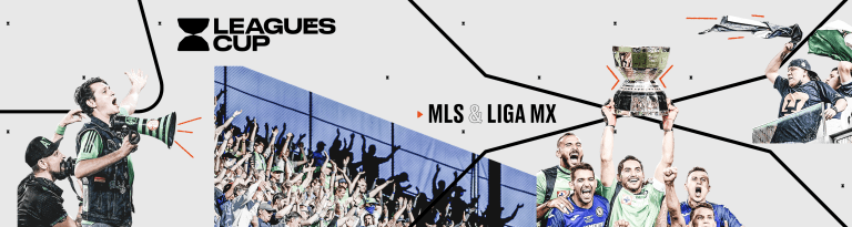 leagues cup - 2023 section header