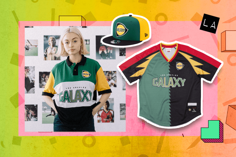 """Examples of LA Galaxy """"Since '96"""" items"""