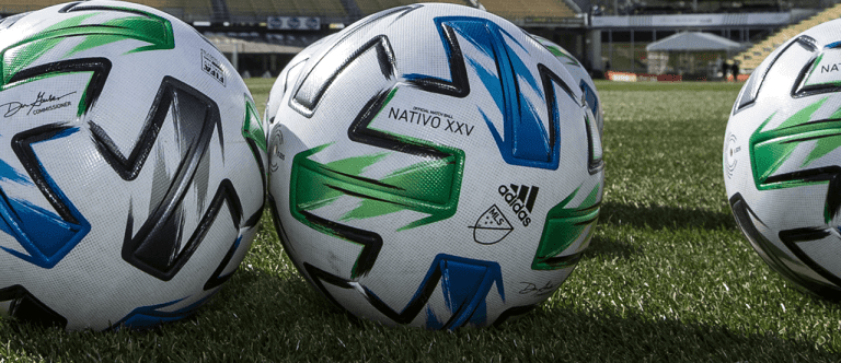 MLS - 2020 - close up of adidas balls
