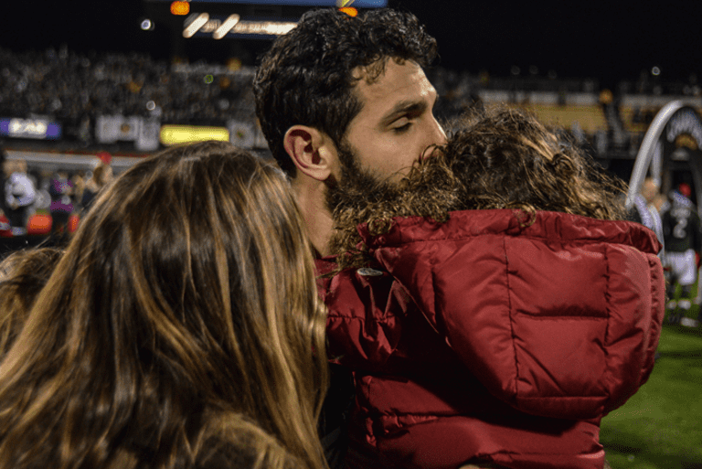 Beards, beer and the betrothed: 24 hours behind the scenes at MLS Cup | THE WORD - https://league-mp7static.mlsdigital.net/images/Valeri-and-fam.png
