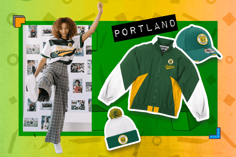 """Examples of Portland Timbers """"Since '96"""" items"""
