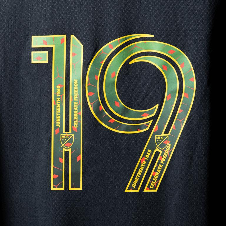 Juneteenth MLS jersey numbers