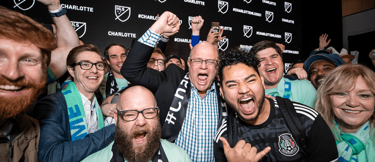 Charlotte - 2019 - Announcement - Tepper with Fans