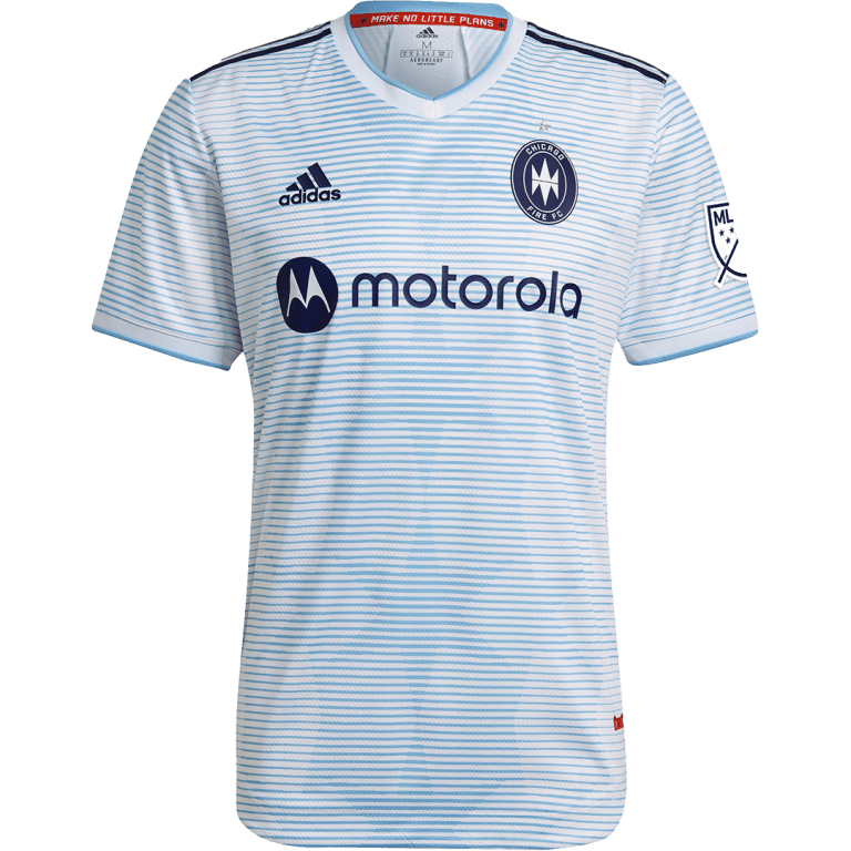 """Chicago Fire FC unveil """"Lakefront"""" 2021 primary and secondary jerseys - https://league-mp7static.mlsdigital.net/images/chi1s.png"""