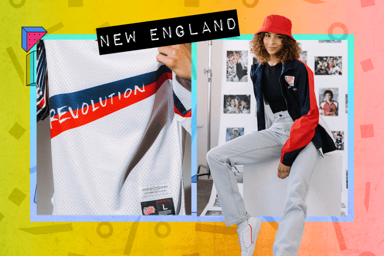 """Examples of New England Revolution """"Since '96"""" items"""