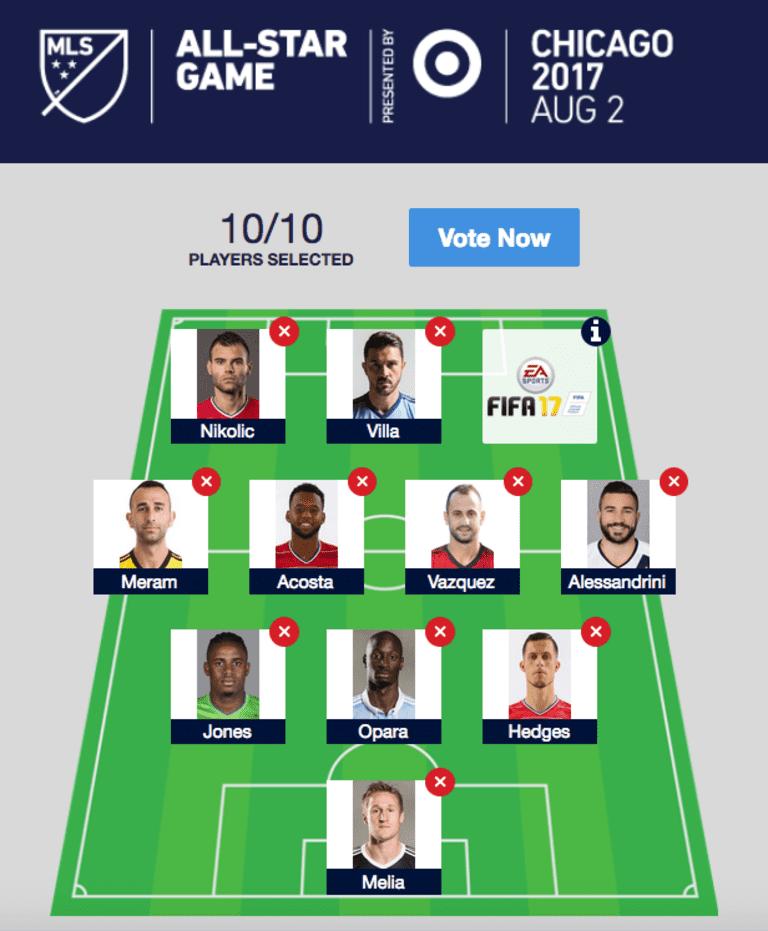 Wiebe: Presenting my 2017 MLS All-Star Fan XI and Best XI (so far) -