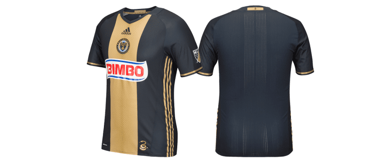 Philadelphia Union releases new primary jersey for 2016 - Philadelphia Union's front and back