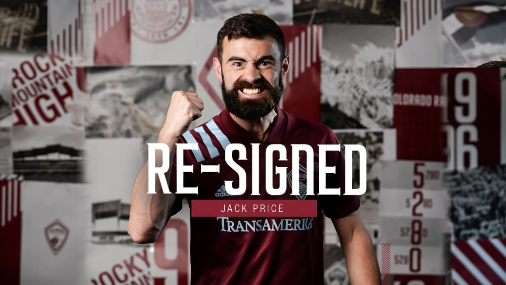 Rapids Sign Team Captain Jack Price to Multi-Year Contract ...