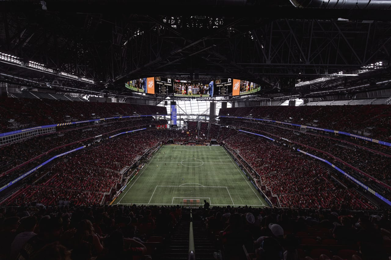 Atlanta United fell 1-0 to the Columbus Crew on Saturday at Mercedes-Benz Stadium. Match gallery presented by Nikon.