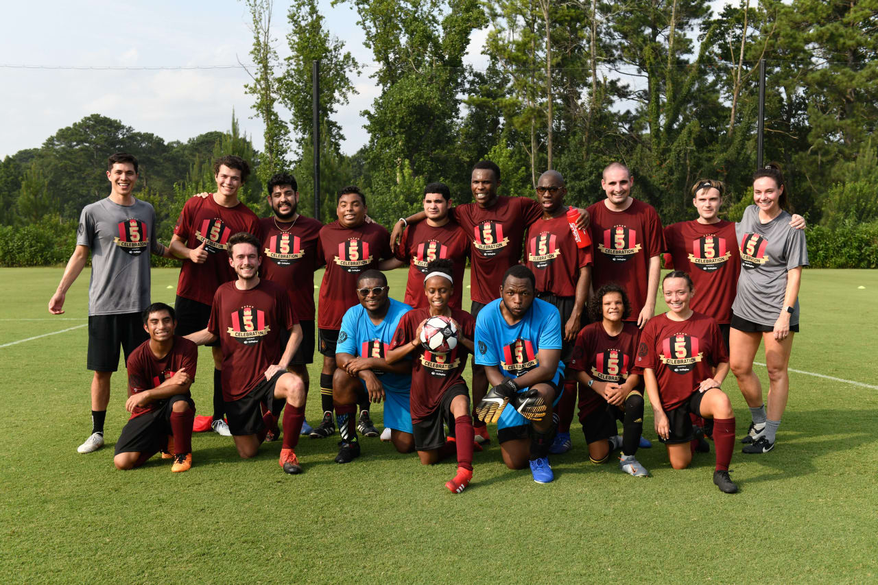 Atlanta United hosted their Unified Alumni match and dinner celebration on Sunday, August 1. Presented by Gallagher Insurance.