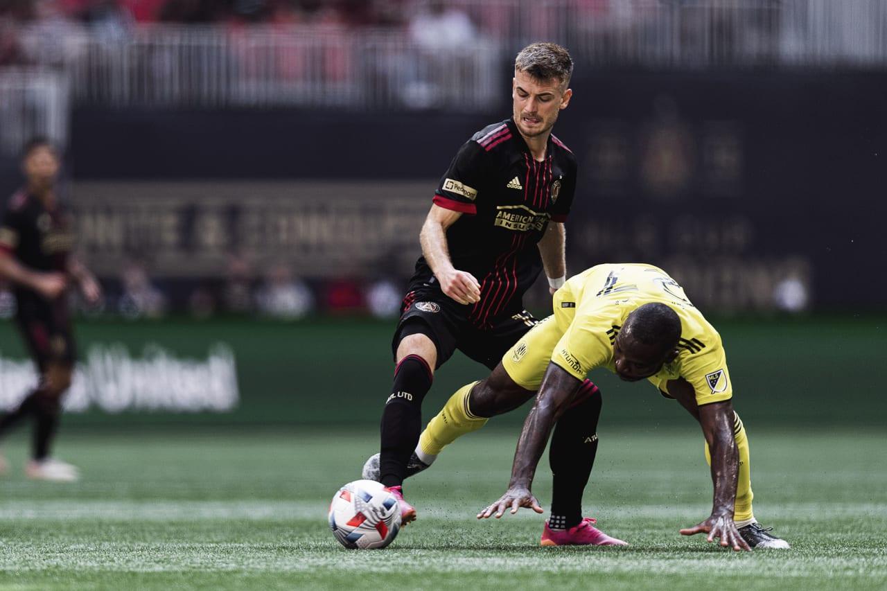 Atlanta United fell 2-0 to Nashville SC on Saturday at Mercedes-Benz Stadium. Match gallery presented by Nikon.