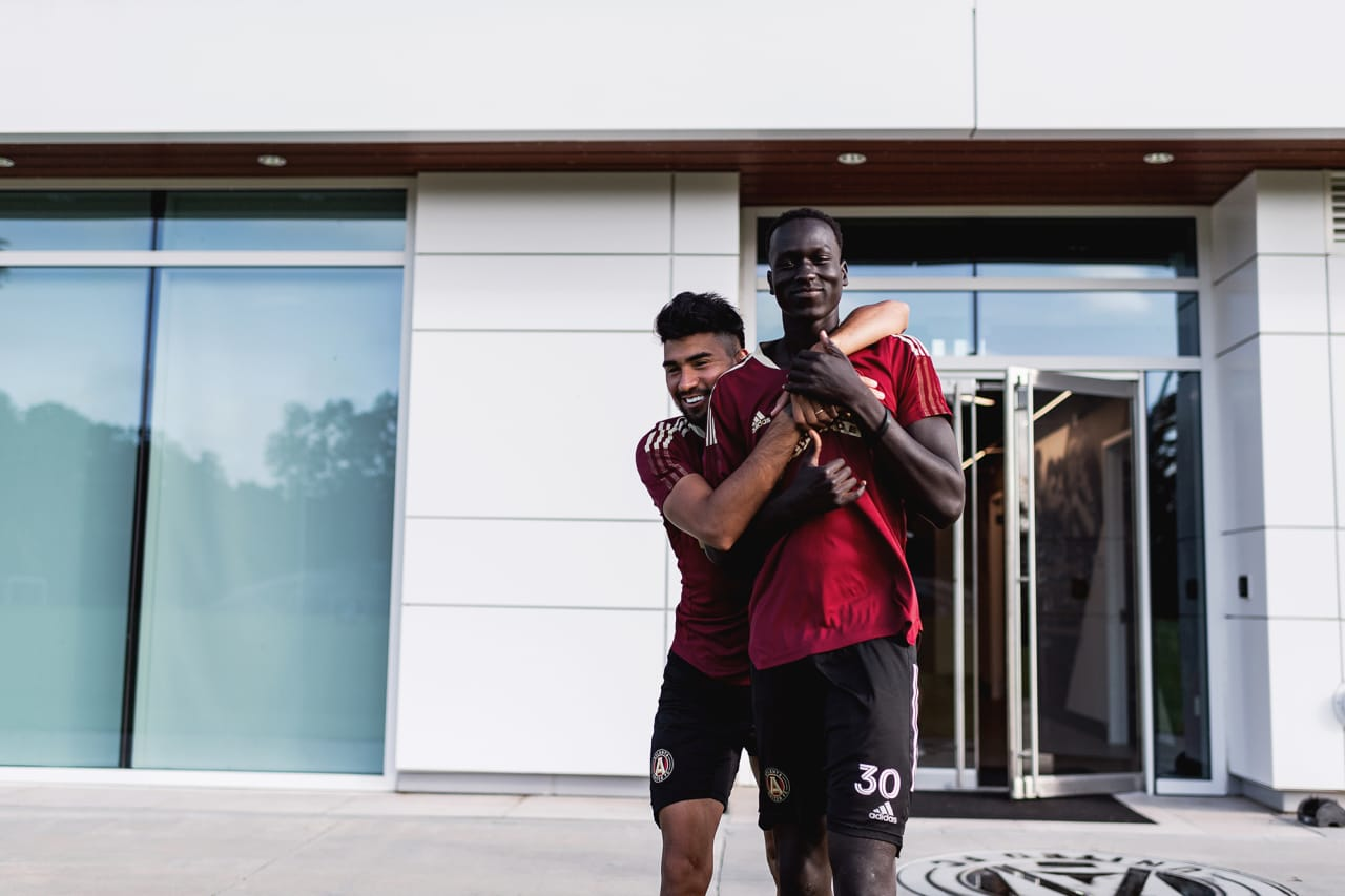 Photos from Atlanta United's week of training at Children's Healthcare of Atlanta Training Grounds